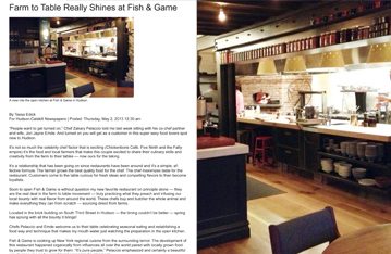 Farm to Table Really Shines at Fish & Game